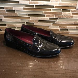 Bally Patent Leather Loafers Dress Shoes